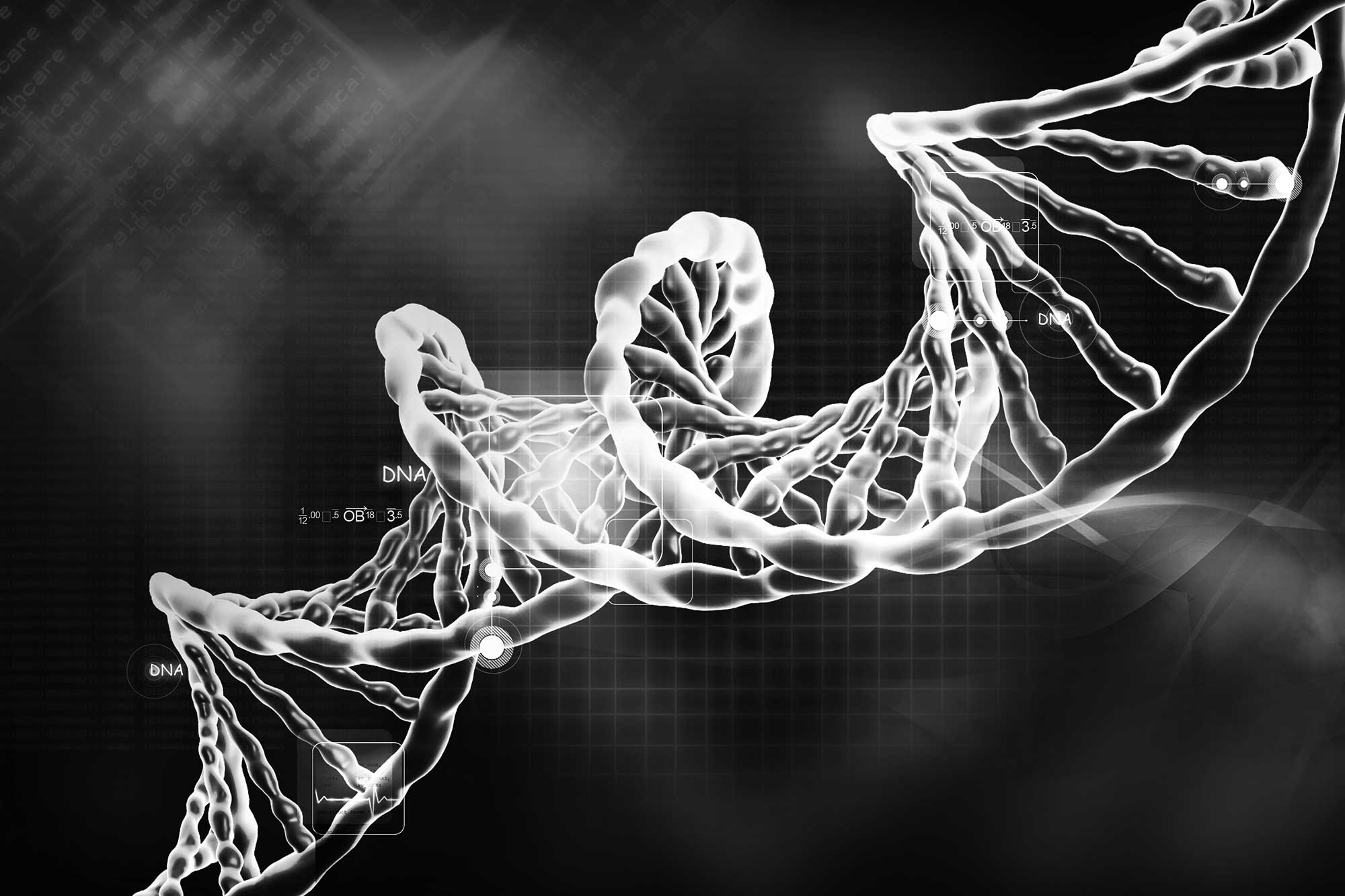 dna-strand-grayscale